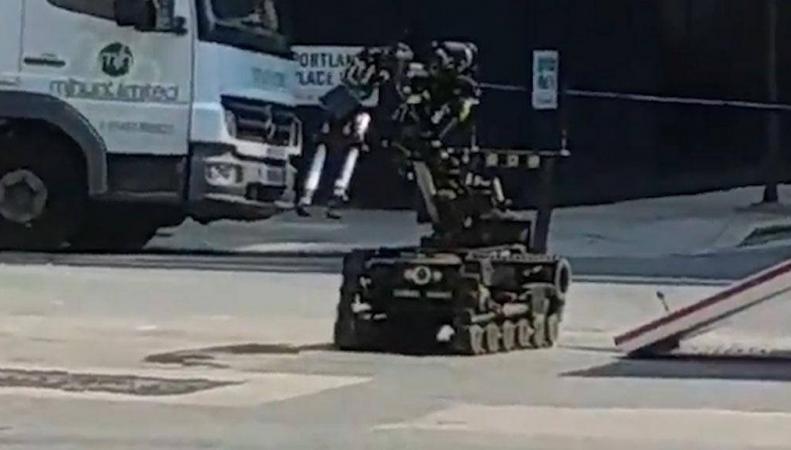 Подозрительный автомобиль взорван возле офиса Би-Би-Си