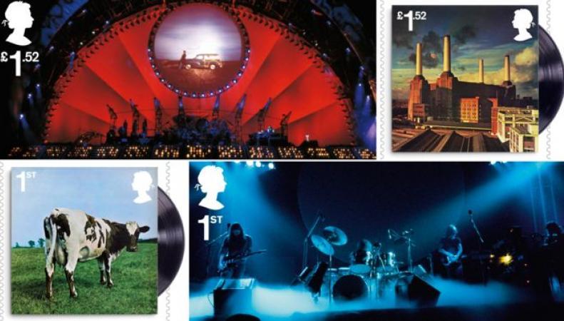 Royal Mail подготовила серию марок к юбилею группы Pink Floyd фото:bbc.com