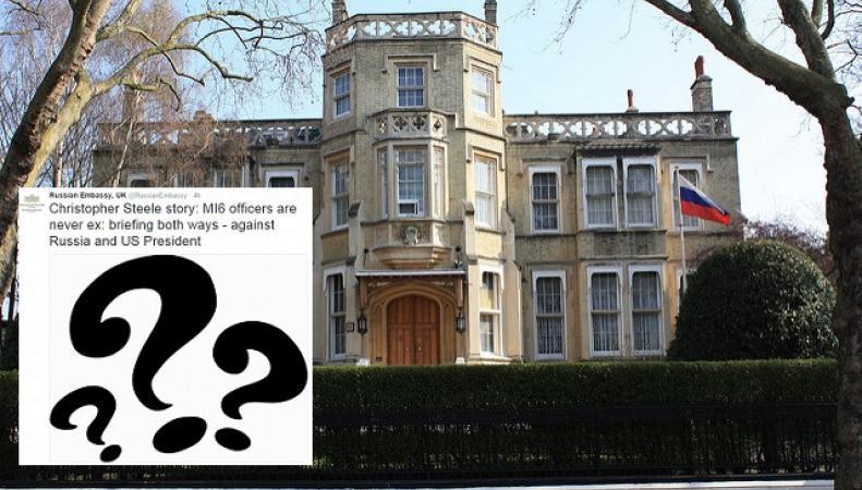 Посольство РФ прокомментировало «секс-досье» шпиона Стила на Дональда Трампа