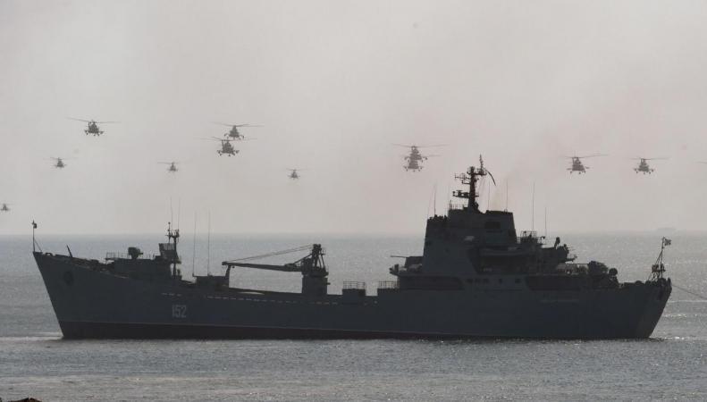 Объявленный поход российских военных кораблей обеспокоил британское правительство фото:independent.co.uk