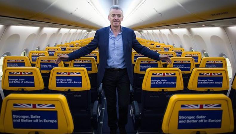 Ryanair сворачивает полетную программу в Лондоне фото:theguardian.com
