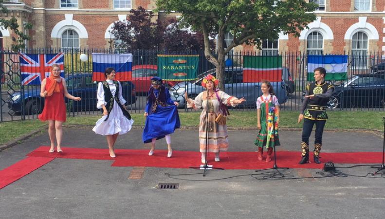 празднование Сабантуя в Лондоне