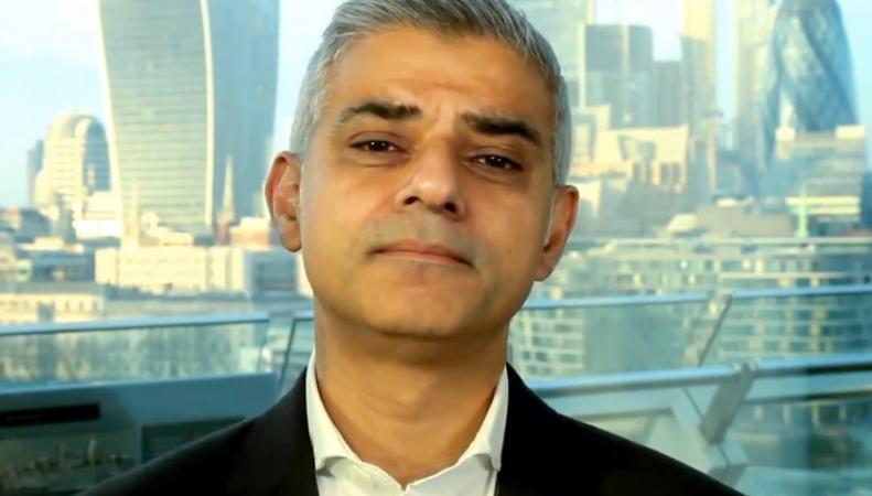 Садик Хан обратился к лондонцам с новогодней речью