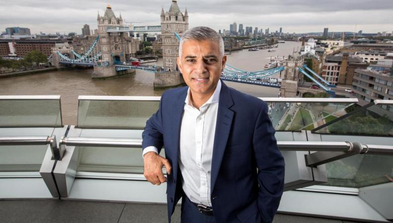 Садик Хан признан самым влиятельным лондонцем фото:standard.co.uk