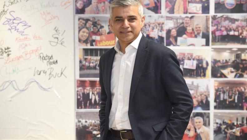 Садик Хан пообещал победить гендерное неравенство зарплат в мэрии и полиции Лондона фото:standard.co.uk