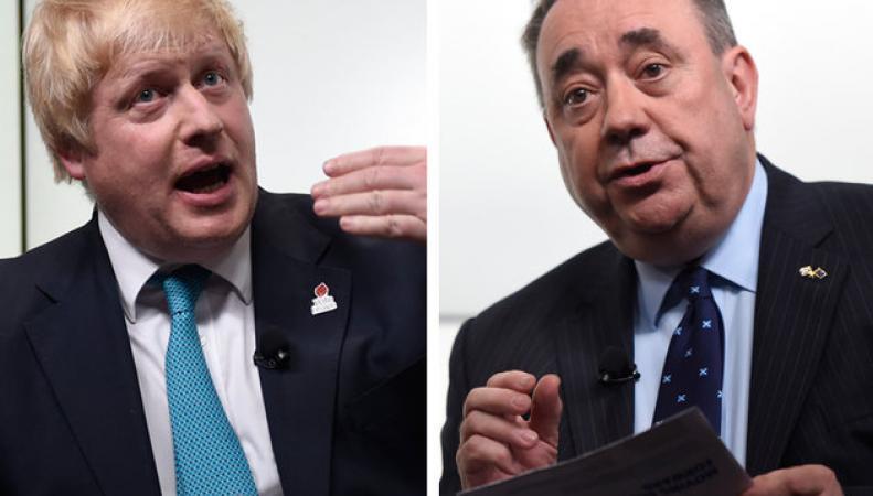 Сэлмонд уличил Джонсона во вранье о связи миграции и размера зарплат фото:telegraph.co.uk