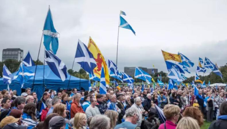 Вера в независимость Шотландии защищена законом