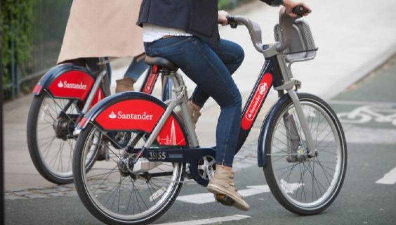 TfL представил новый дизайн велосипедов лондонского городского велопроката фото:standard.co.uk