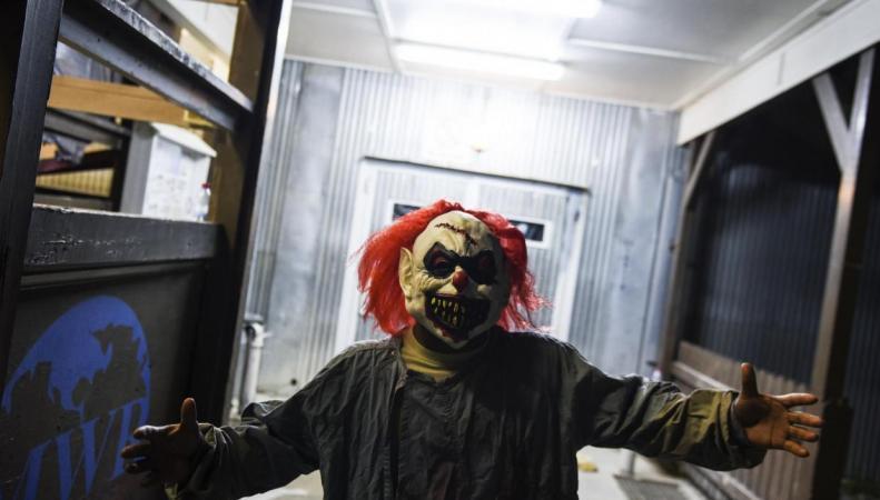 Неизвестные в масках клоунов атакуют детей в Ньюкасле фото:independent.co.uk