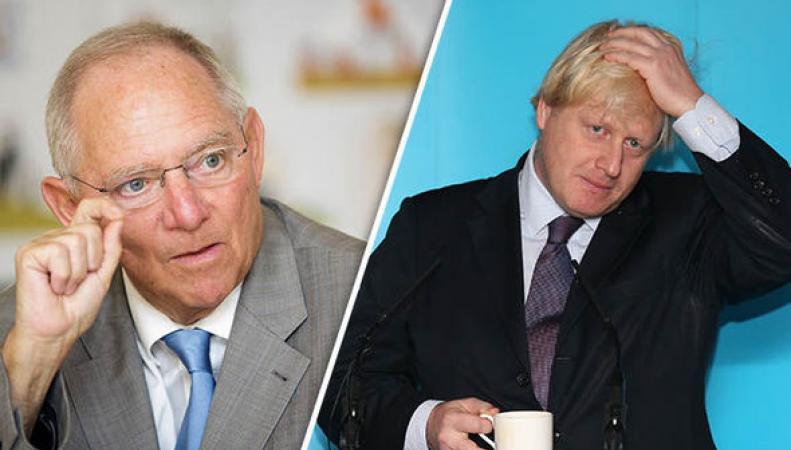 Борис Джонсон рассорил Германию с Великобританией по вопросу Brexit фото:express.co.uk