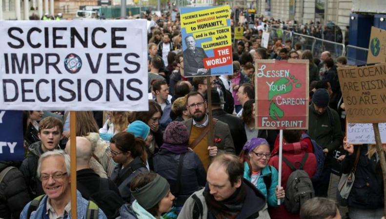 В Лондоне прошел Марш в поддержку науки фото:bbc