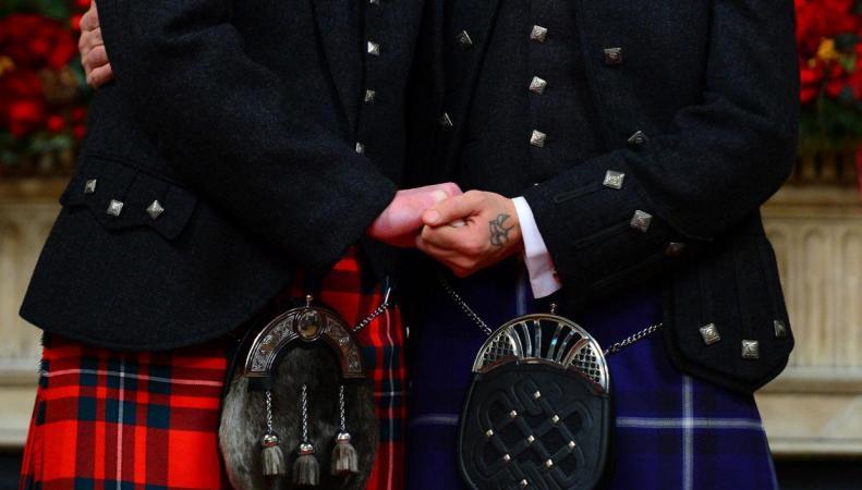 Шотландский собор первым в Великобритании получил право венчать однополые пары фото:independent