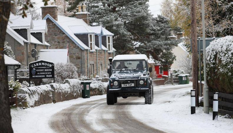 В Великобритании резко похолодает к выходным