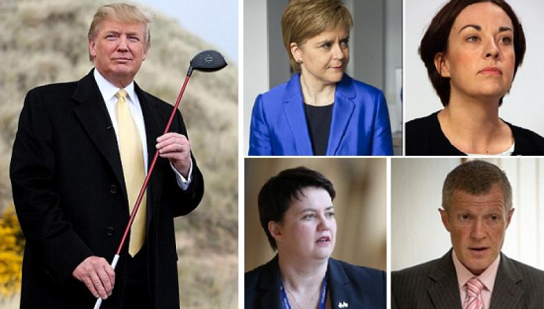 Шотландские политики стесняются «соотечественника» Трампа