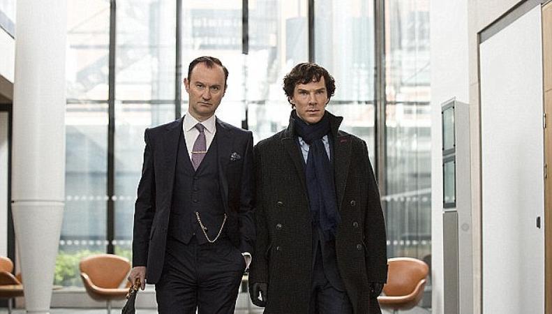 Финал сериала «Шерлок» покажут в трехстах кинозалах Великобритании фото:dailymail.co.uk