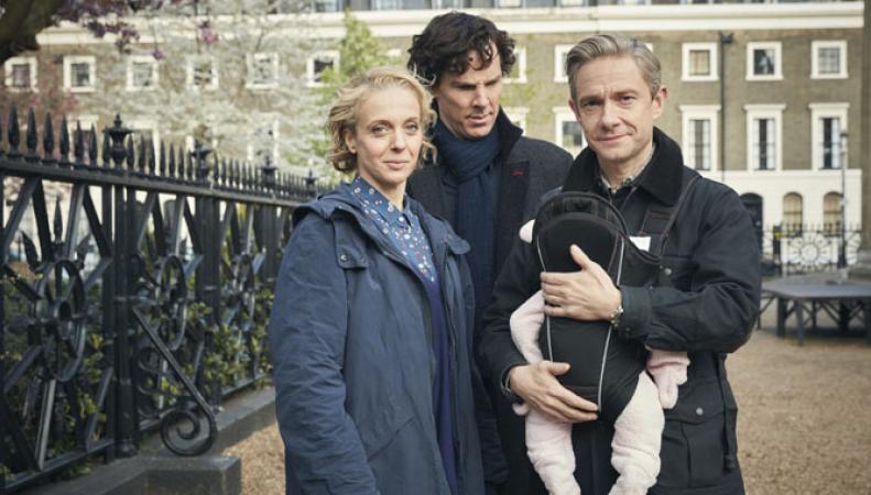 Стивен Моффат рассказал о дальнейшей судьбе сериала «Шерлок» фото:contactmusic.com