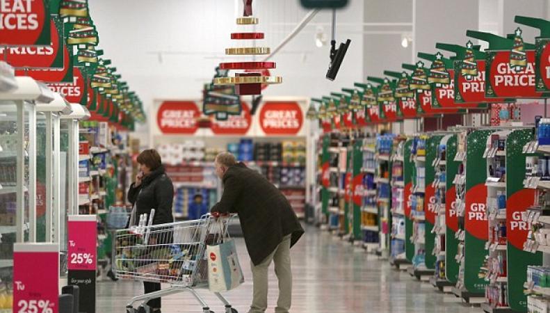 Цены на продукты питания  в Великобритании выросли до максимума за четыре года