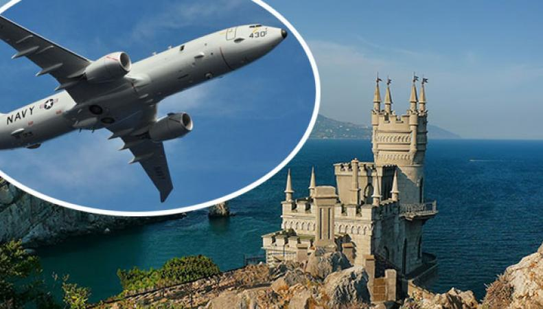 В России объяснили очередное появление у границ Крыма самолета-разведчика США