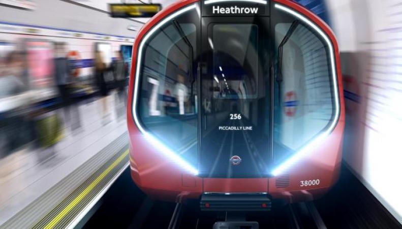 Siemens построит поезда для лондонского метро