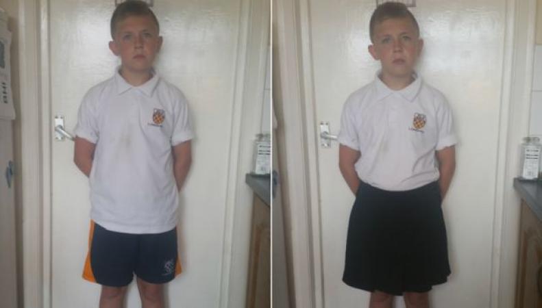 Мальчики из школы в Ист-Сассексе устроили «юбочный протест» против дресс-кода фото:bbc.com