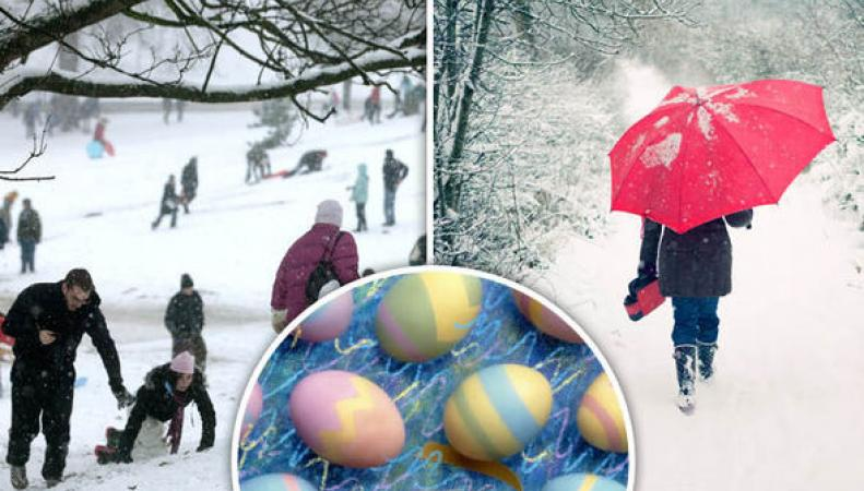 Британские синоптики пообещали снег на Пасху