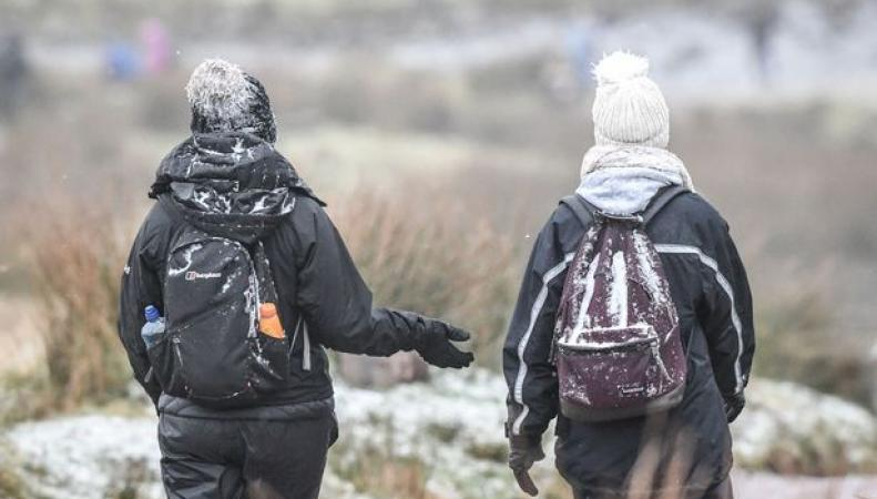 Новая волна арктического воздуха надвигается на Великобританию