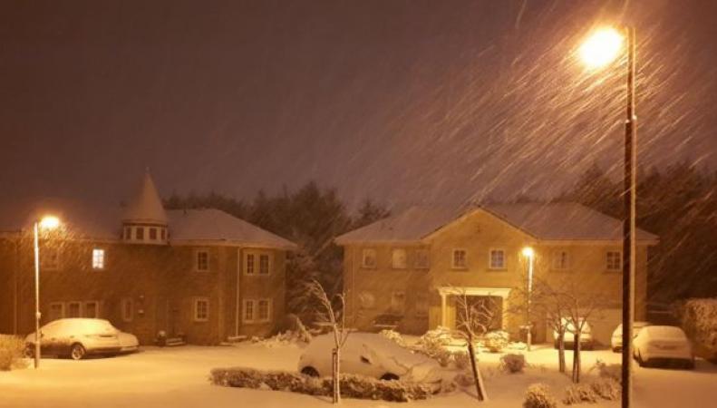 MetOffice усилил штормовое предупреждение по Шотландии