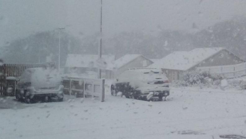 Шторм Conor завалил снегом северные районы Шотландии фото:bbc.com