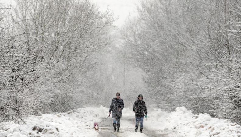 На Великобританию надвигается исландский арктический холод