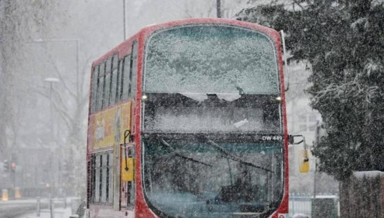 Великобританию накроет холодом из Сибири