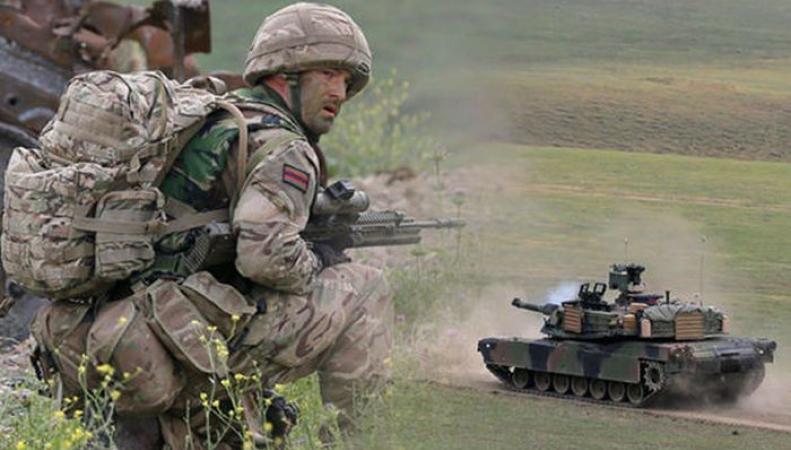 Великобритания  направит войска на восточный фланг НАТО