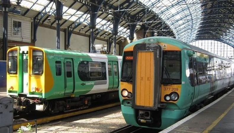 Железнодорожный оператор Southern пересмотрел график забастовок фото:juicebrighton.com