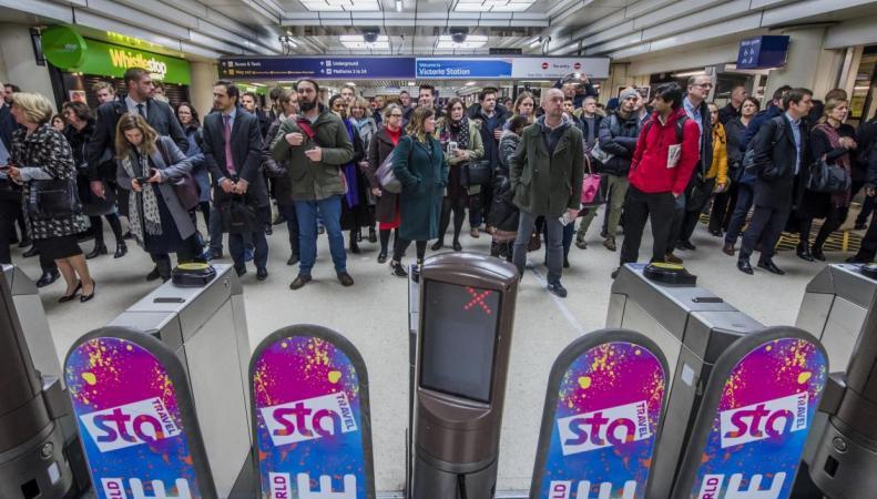 Британские железнодорожные операторы запланировали совместную забастовку фото:standard.co.uk