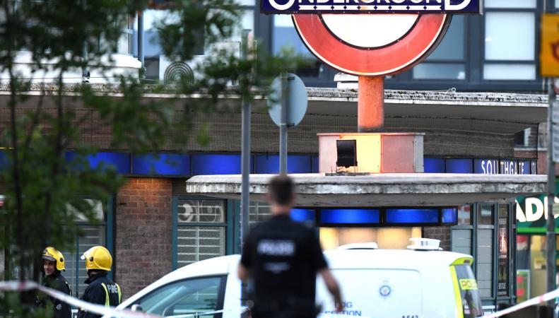 На станции метро в северном Лондоне прогремел взрыв