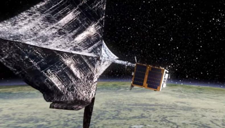 Великобритания готовит миссию по сбору космического мусора фото:gizmag.com