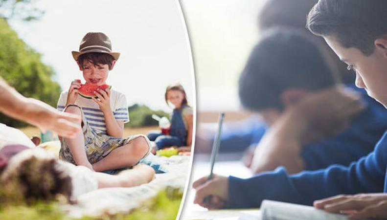 Власти Йоркшира нашли основание не штрафовать родителей за отдых детей во время учебы фото:express.co.uk