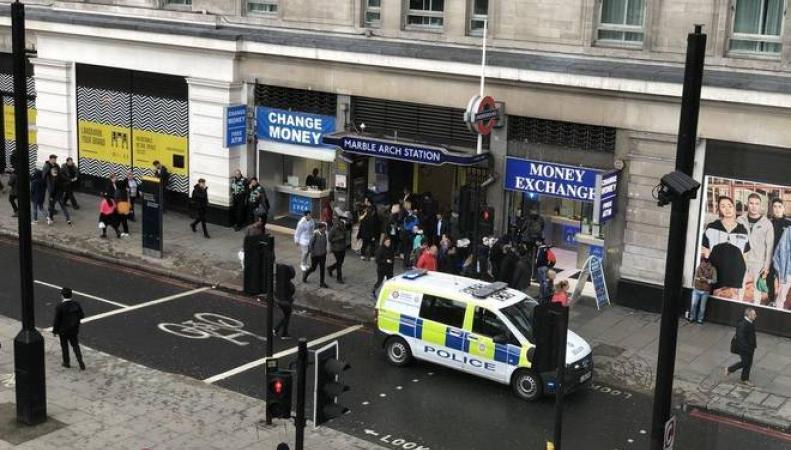 Станцию метро Marble Arch закрыли из-за нападения на платформе