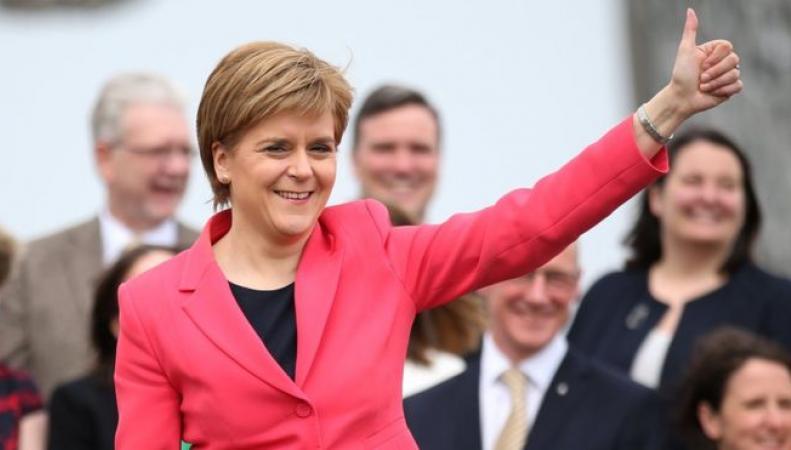Никола Стерджен признана второй по влиятельности женщиной Соединенного королевства фото: bbc.com