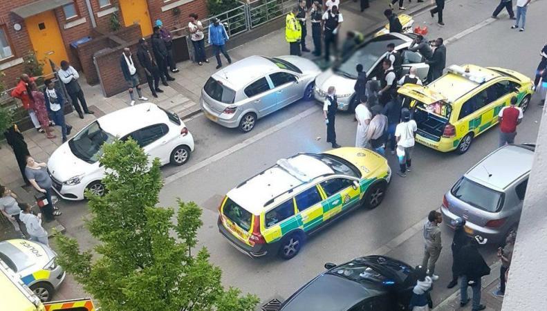 Вспышка насилия в Лондоне: шесть раненых и одна убитая за сутки