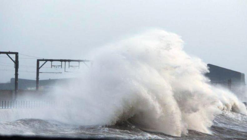 Шторм в Шотландии превзошел ожидания синоптиков фото:stv.tv