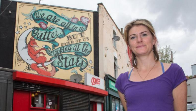 Лондонцы готовы платить больше за дома с красивыми граффити фото:standard.co.uk