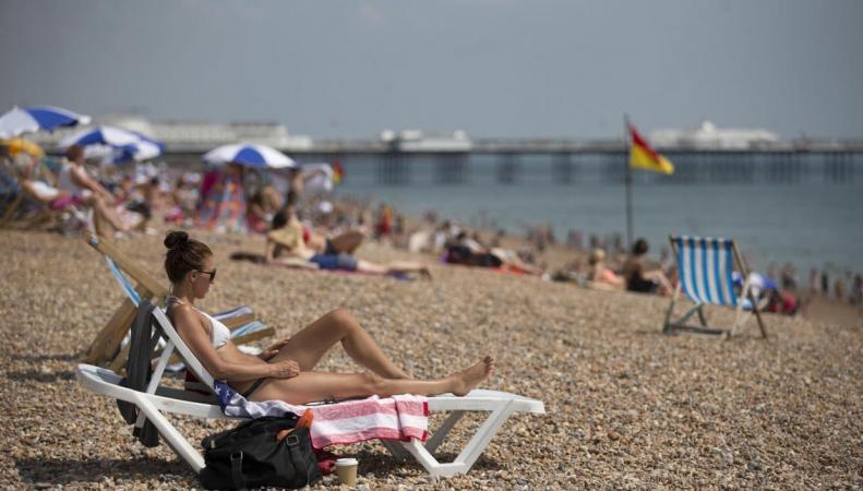 Ураган Герт принесет в Англию рекордную температуру августа фото:independent