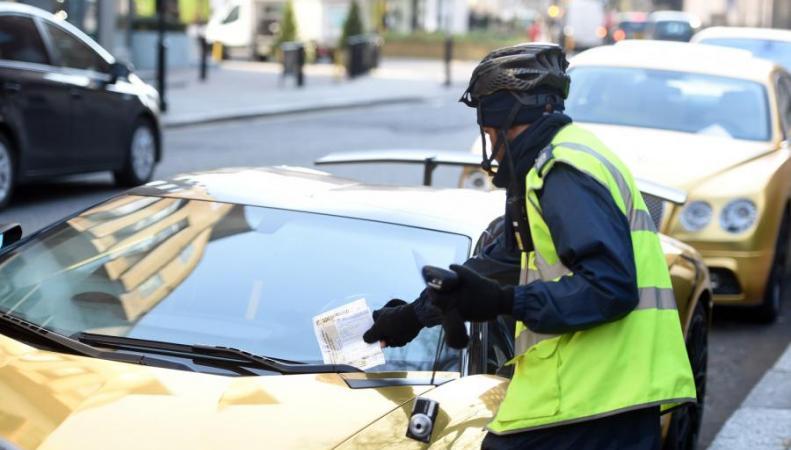 Иностранные водители задолжали Лондону миллион фунтов стерлингов фото:stendard.co.uk