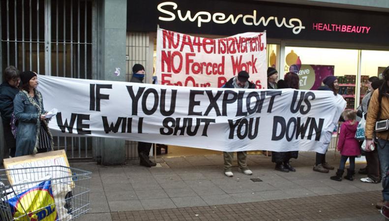 Названы британские компании, эксплуатировавшие мигрантов как бесплатную рабочую силу фото:boycottworkfare.org