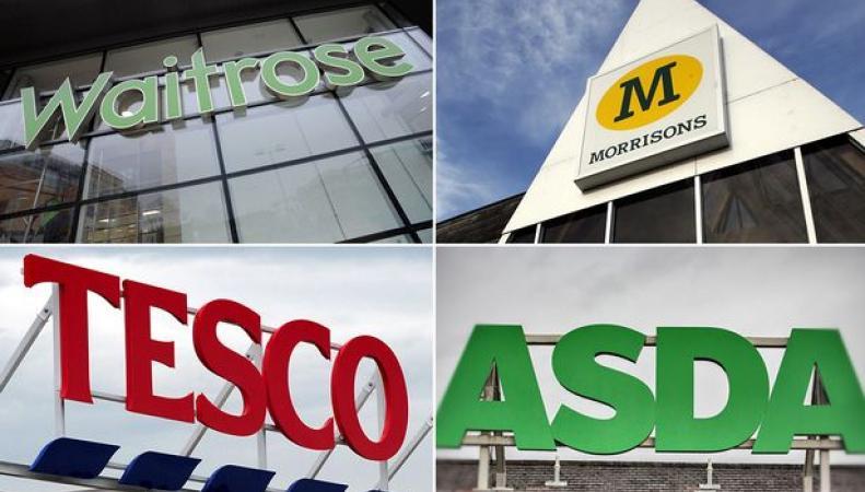 График работы британских сетевых супермаркетов в ближайшие банковские выходные фото:mirror.co.uk