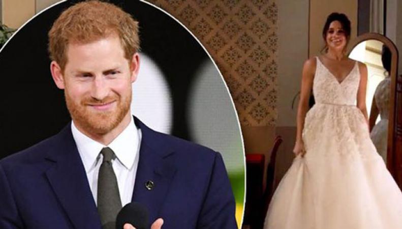 Меган Маркл выбирает свадебное платье