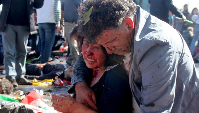 Теракты в Турции