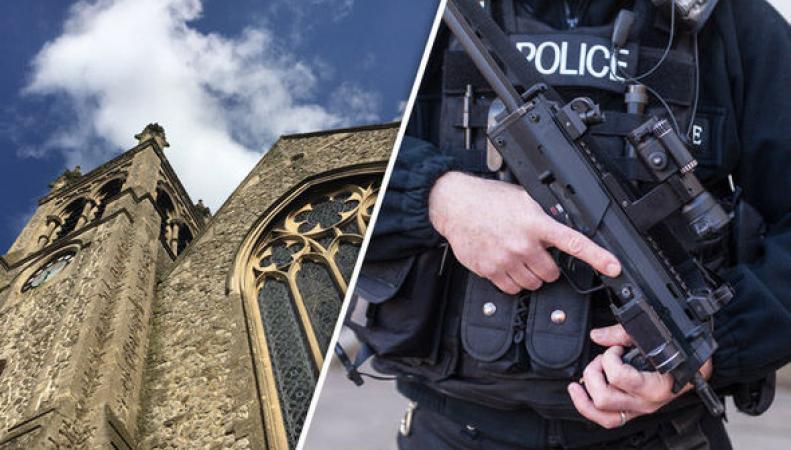 В христианских церквях Великобритании усилят охрану после теракта в Нормандии фото:mirror.co.uk