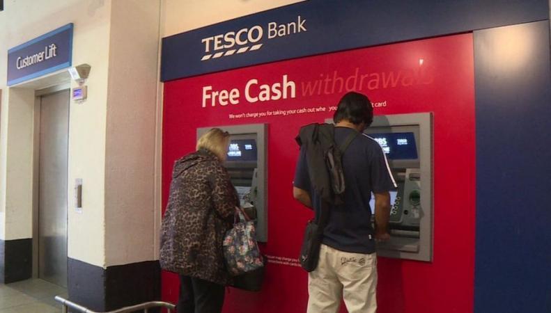 Клиенты Tesco Bank стали жертвами мошенничества фото:bbc.com