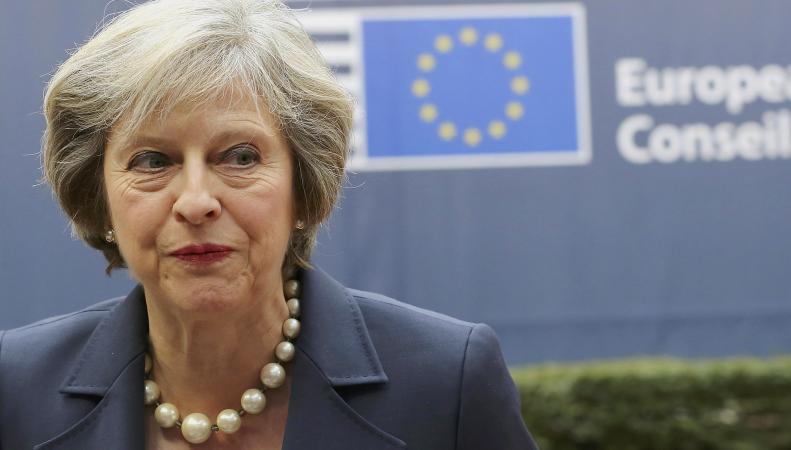 Секретная аудиозапись раскрыла истинное отношение Терезы Мэй к Brexit фото:theguardian.com